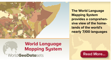 World GeoDatasets Innovative And Refined Data For Geographic - World language mapping system
